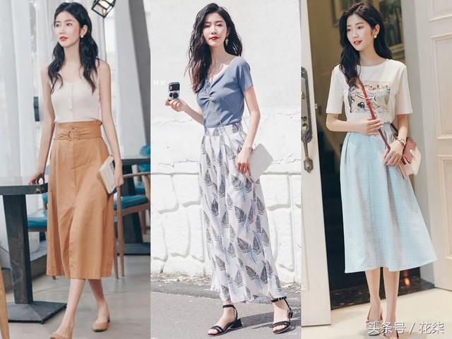 温柔有质感的夏末穿搭,有女人味才是轻熟女生的最好穿搭状态!