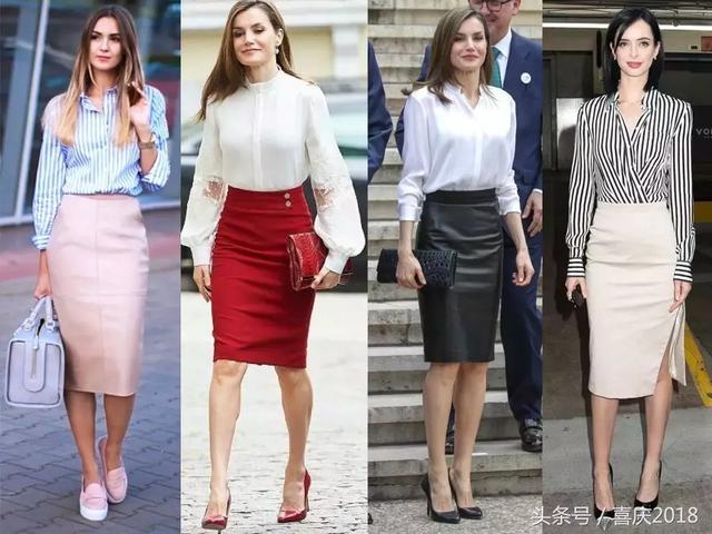 几套超美搭配,教你如何从职场小白蜕变为优雅职场女性!